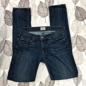 Hudson Distressed Skinny Jeans Size 27